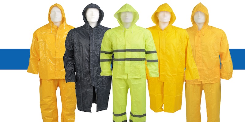 Summer rain? Don't get caught out with our waterproof clothing!