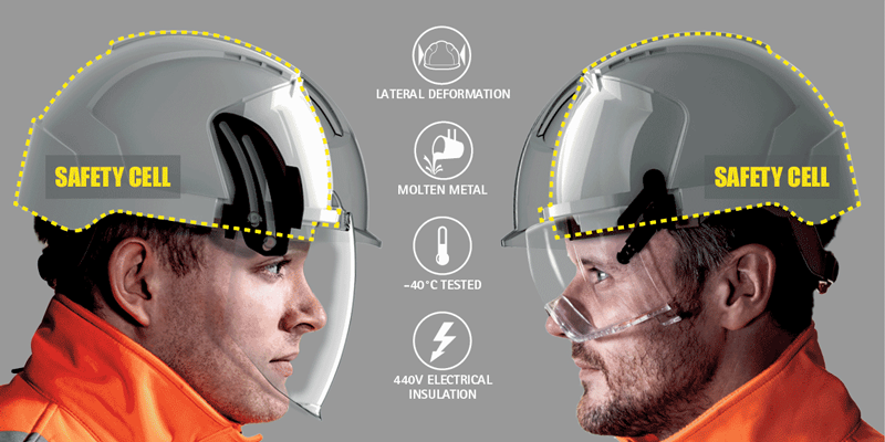 Introducing the new EVO®VISTATM next generation feature-rich safety helmets