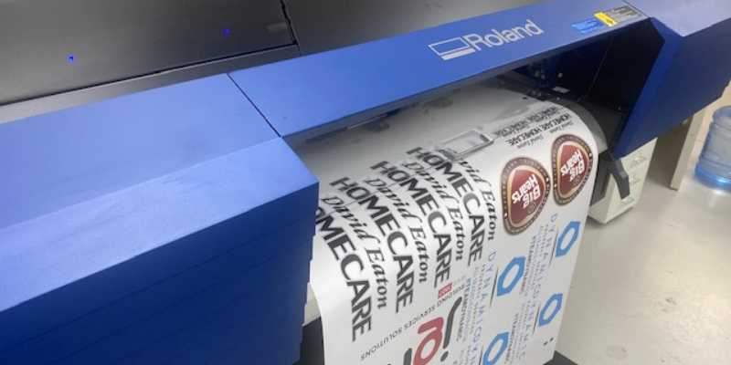 Take your garment logo printing to the next level with our new Roland SG2-300