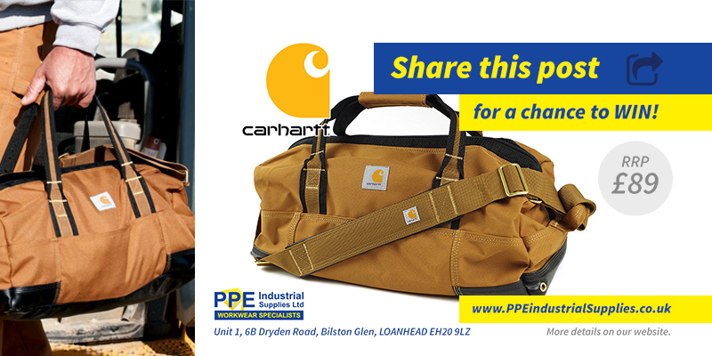 PPE Competition: Win A Carhartt Bag