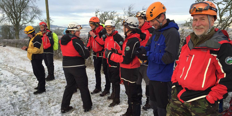 PPE supplies Border Search and Rescue Team with Safety Goggles