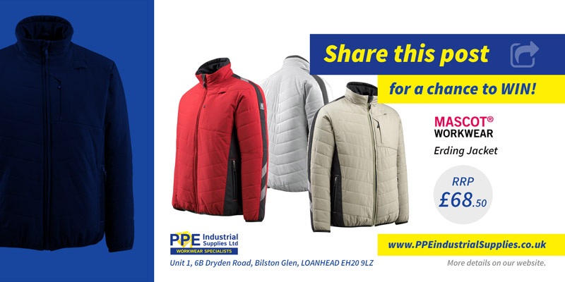PPE competition: Win a MASCOT Erding Jacket!