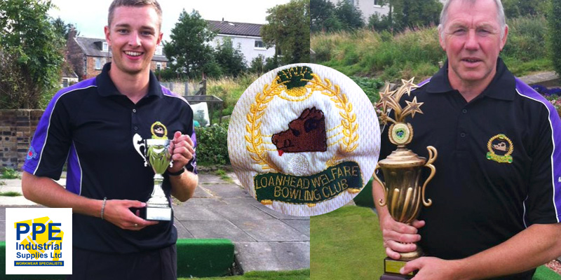 PPE provide team kit for top ranked Loanhead Welfare Bowling Club