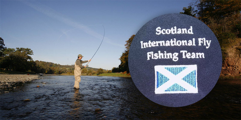Scotland International Fly Fishing Team net new crew jackets from PPE