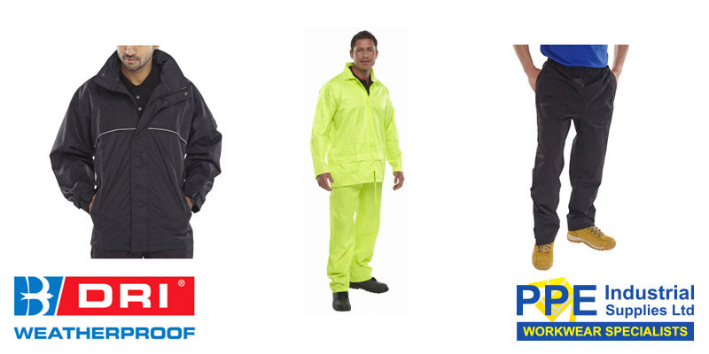 Get set for wet weather this Spring with rain jackets and suits
