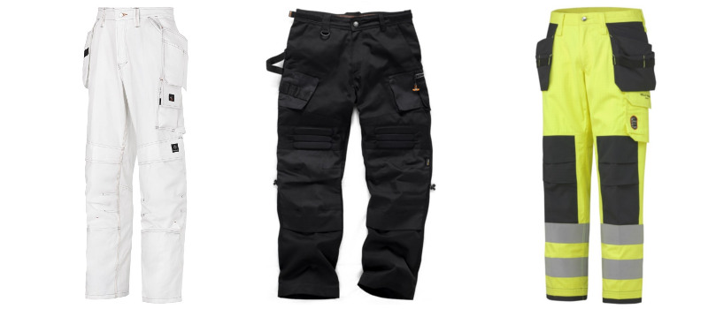 Construction and Industrial work trousers