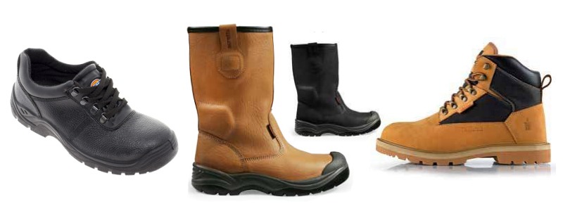 Safety boots and workwear shoes
